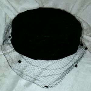 Frederick and Nelson  pillbox hat 1940s